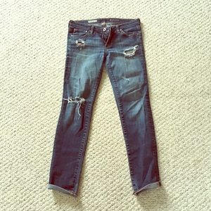 Adriano goldschmied distressed jeans